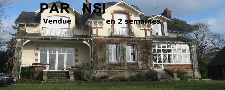 Maison vendue par l'agence immobilière Nantes Sud Immobilier en 2 semaines